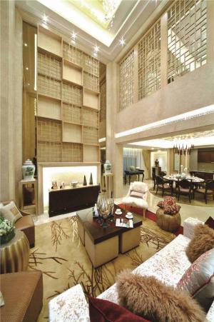板式小户型客厅家具图片