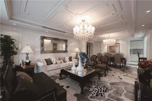 公寓长方形客厅家具
