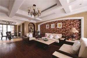 温馨大客厅沙发