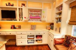 卧室转角书柜