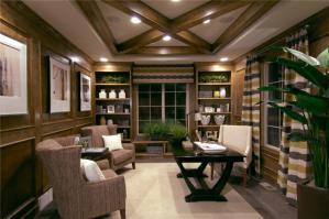 一体式客厅书柜