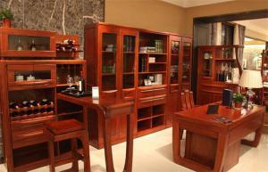 红木家具中式书柜