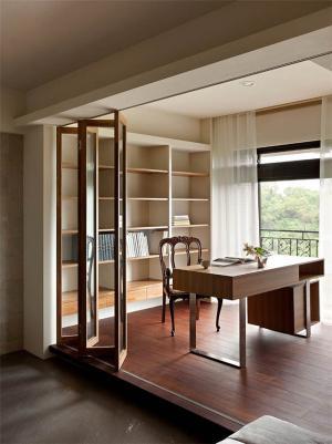原木质感创意书桌