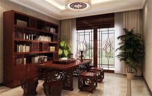 典雅新中式书柜