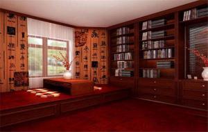 新中式书柜定制设计