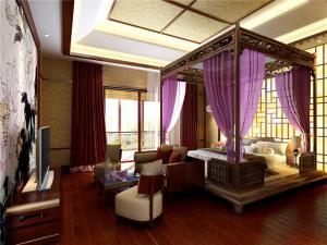 家居日式卧室装修图片