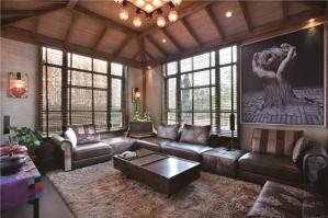 时尚现代客厅家具图片