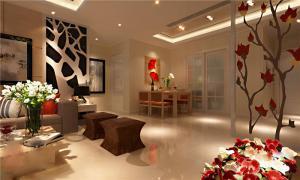 简约美式客厅家具图片