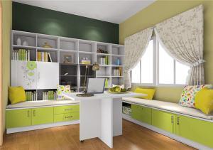 飘窗书柜家具定制