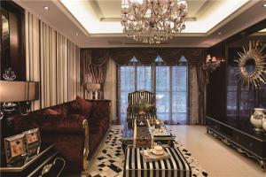 新古典客厅沙发布局图片