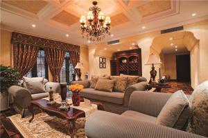 豪华中式客厅家具图片