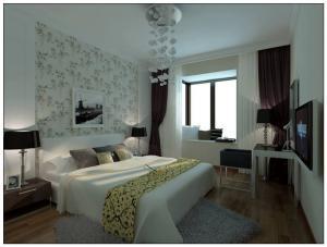 豪华家庭卧室装修图片