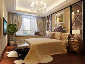 现代带飘窗的卧室装修图片