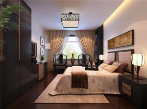 欧式带飘窗的卧室装修图片