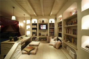 有质感的欧式书柜