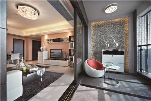 欧式奢华大客厅沙发
