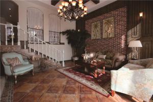 欧式长方形客厅家具