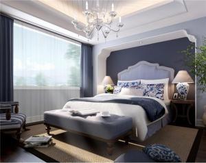 公寓带飘窗的卧室装修效果图