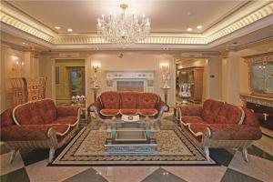 欧式客厅沙发摆放效果图欣赏