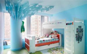 有境界的儿童房设计上下床