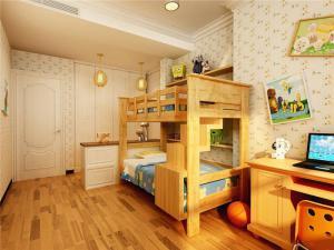 原木家具小空间儿童房设计