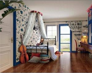 地中海儿童房家装样板间