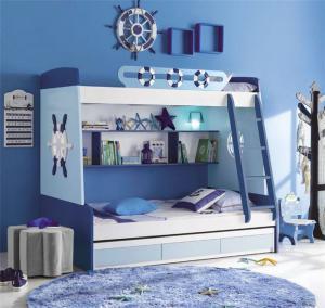 海军风儿童家具上下床