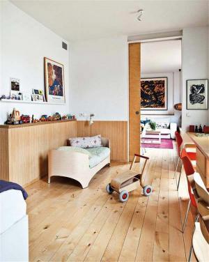 原木儿童房家具