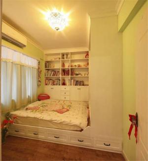 一体式儿童房榻榻米设计