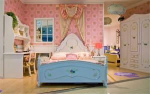 公主风儿童房装修实例