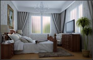 美式小卧室装修