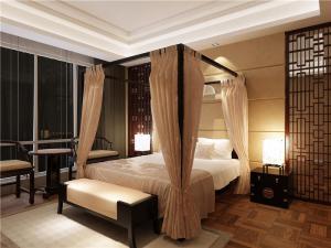新古典欧式卧室装修图片