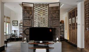 小户型现代电视柜图片