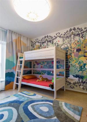 手绘墙儿童房定制