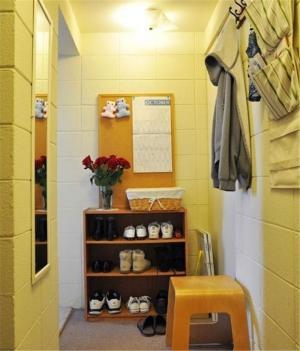 时尚门厅鞋柜