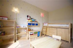 儿童房颜色家具