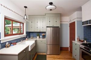 高清阳台改厨房效果图
