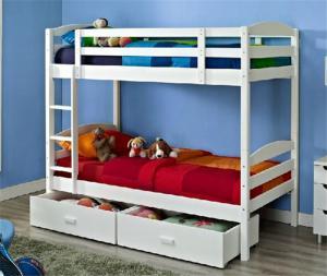 定制儿童房双层床效果图