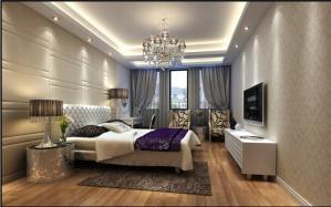 欧式奢华小户型卧室装修