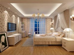 美式小户型卧室装修