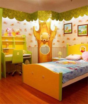 维尼熊创意儿童房