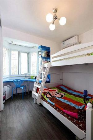 阳台双人儿童房