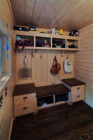 好看的客厅鞋柜实拍图