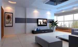 现代创意电视柜图片