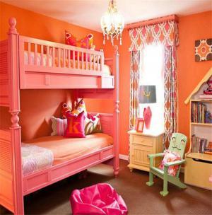 复古儿童房颜色