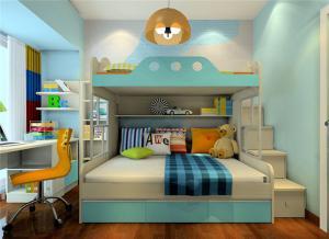 儿童家具上下床欣赏图