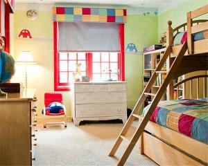 复古儿童房装修效果图男孩