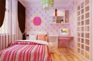 女孩小空间儿童房设计