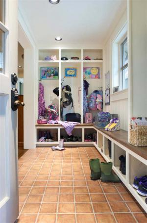 现代门口鞋柜图片