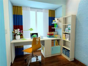 儿童房立式书柜